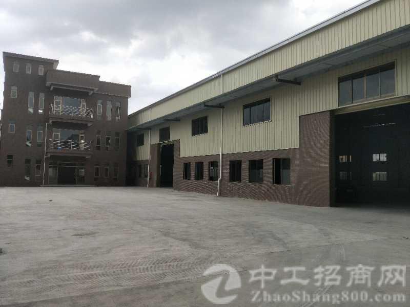 精品小独院一层钢构厂房。
