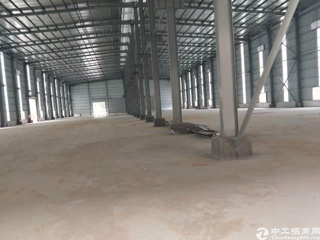 企石镇独栋单一层滴水8米钢构出租