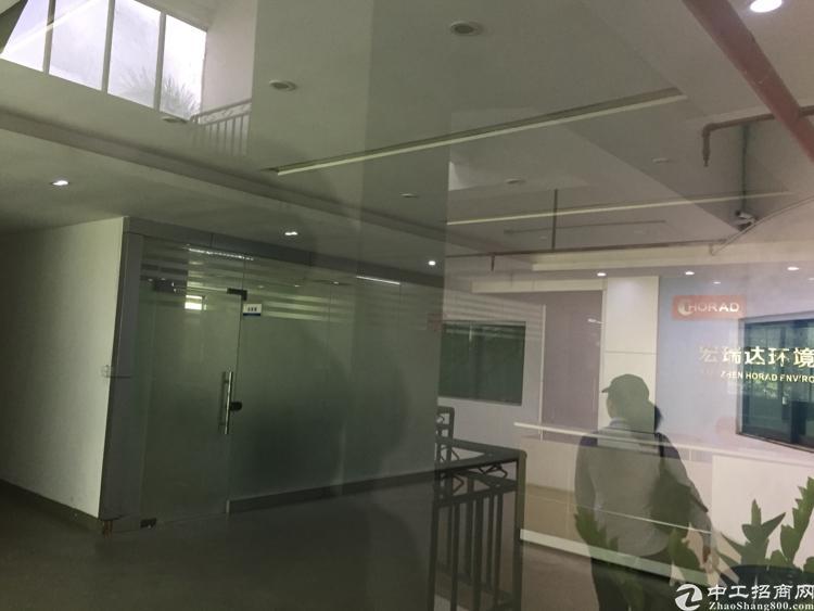 宝安松岗地铁口独栋红本研发楼低价出租