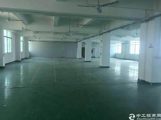 西乡银田工业区楼上1600平厂房出租