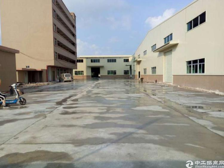 横沥银宝山新附近独院钢构6800平方出租