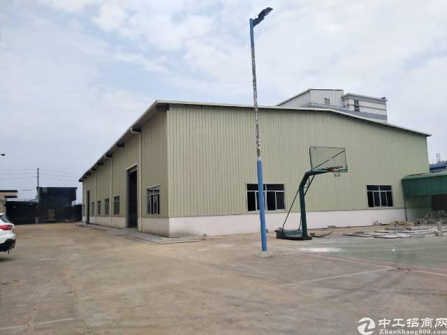 大朗镇工业区新建钢构1000平方,滴水七米