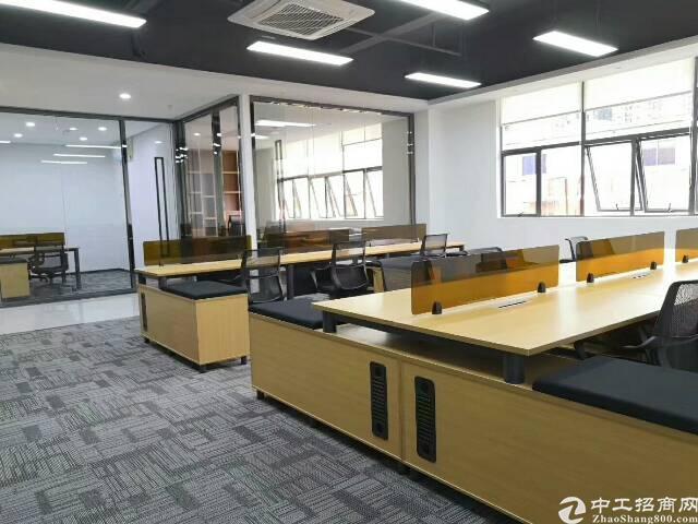 (出租)深大站深港产业园 南向精装340平米 租80元