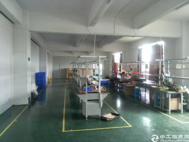 观澜库坑同富裕工业区新出带装修厂房580平招租