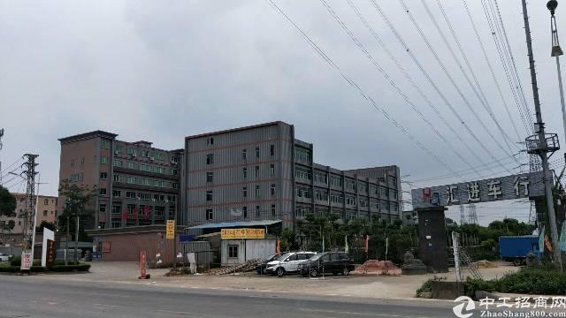 石碣高速旁,国有证花园式独院厂房,形象超靓,建筑11600㎡