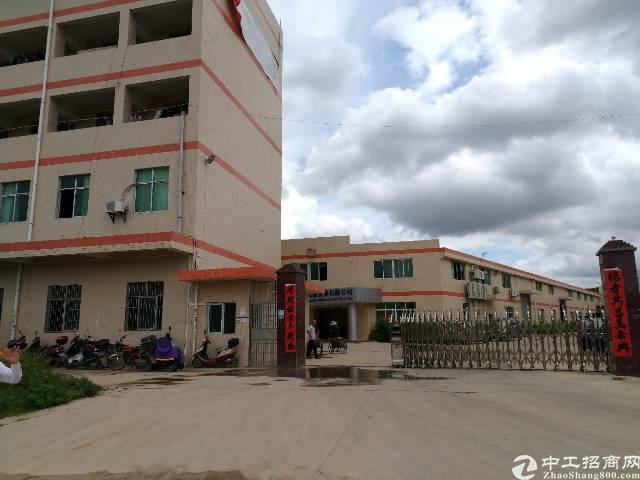 惠州惠阳三和原房东独院钢构厂房面积面积5400平