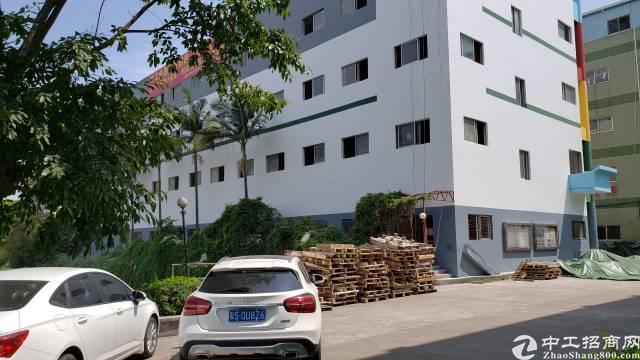 厚街镇9成新1到5层工业厂房5600方出租可分层租