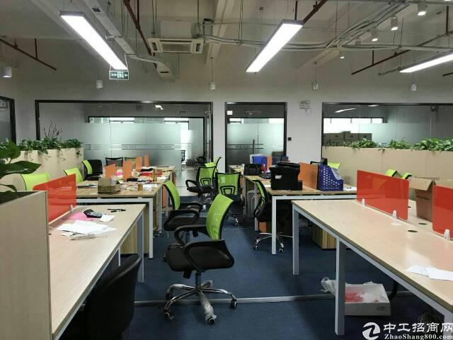 龙华高端厂房精装办公楼1800平米