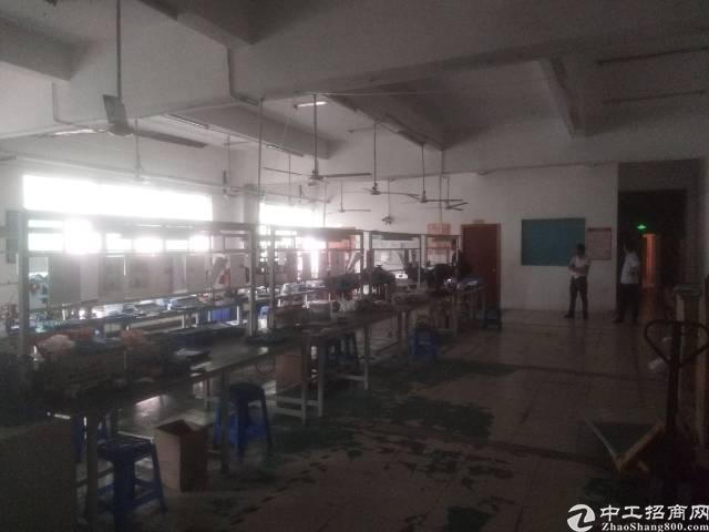 观澜福民新出二楼550平带装修厂房出租