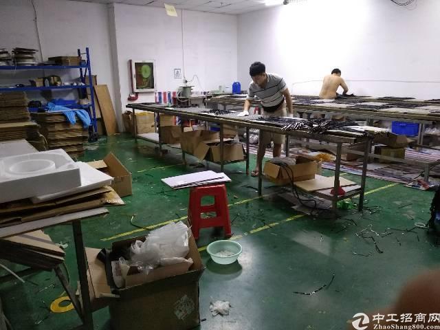 石岩水田第四工业区新出楼上700平装修厂房出租-图3