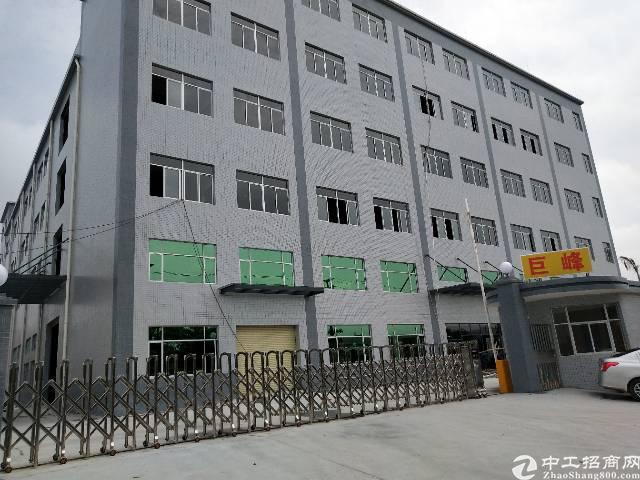 黄江大型工业园区内5000平标准厂房招租