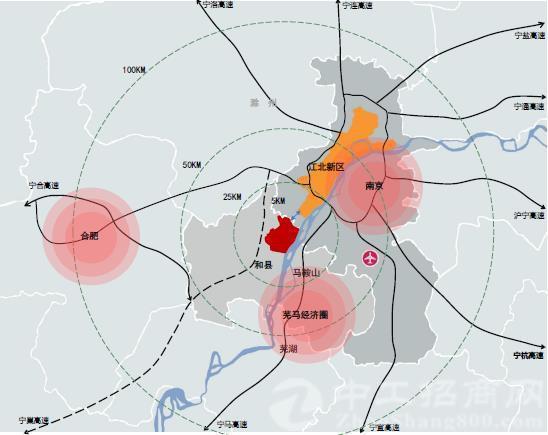 安徽滁洲市-新能源汽车/高端制造/国有工业土地出售