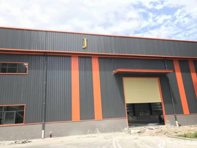高速出口附近新建全新钢构厂房三栋,每栋1500平米,租金20
