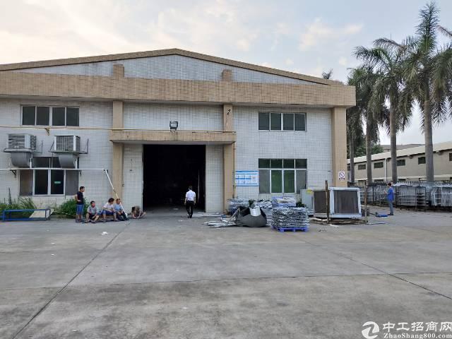 黄江靠刁朗独院厂房5500平方