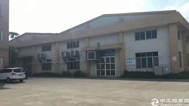 黄江单一层独院厂房8800平方米招租,有天然气管道