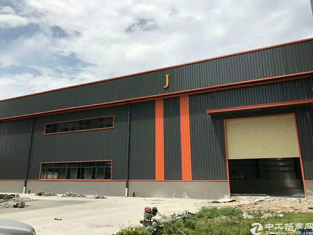 石排镇独院工业区全新单一层钢结构房,总面积5495平方