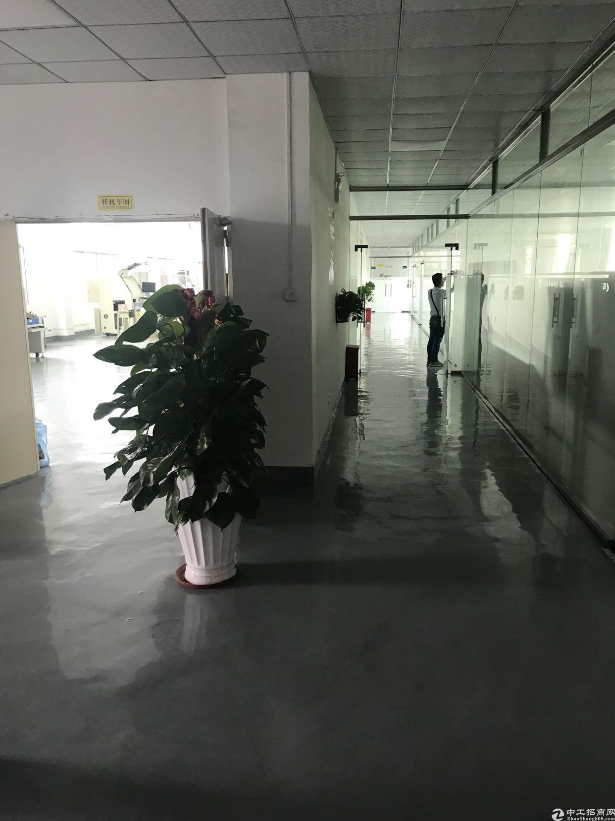 观澜牛湖裕昌路旁出独门独院标准厂房7000平共5层
