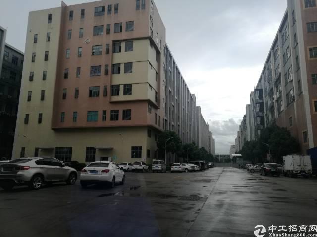 西乡黄田107国道旁边楼上整层3210平米厂房出租