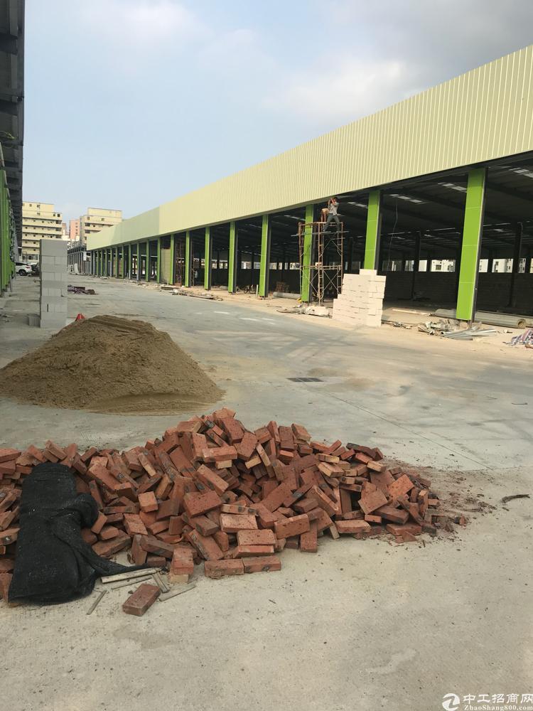 西乡固戍16000平方全新钢构厂房