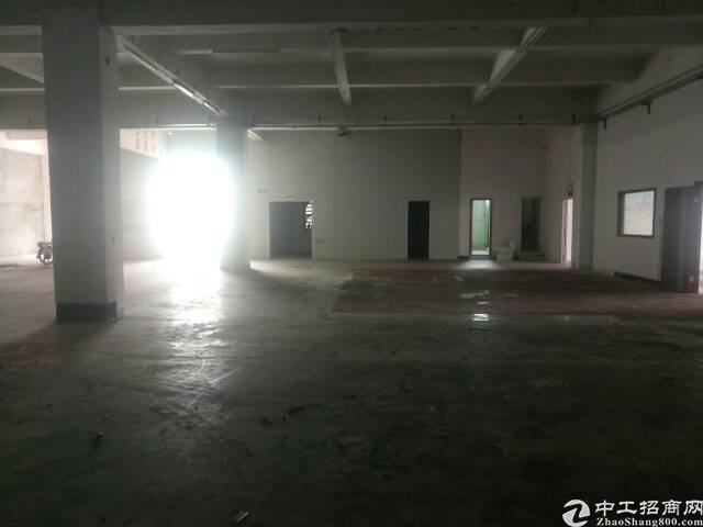 黄江镇中心成熟工业园区内分租500㎡一楼厂房!