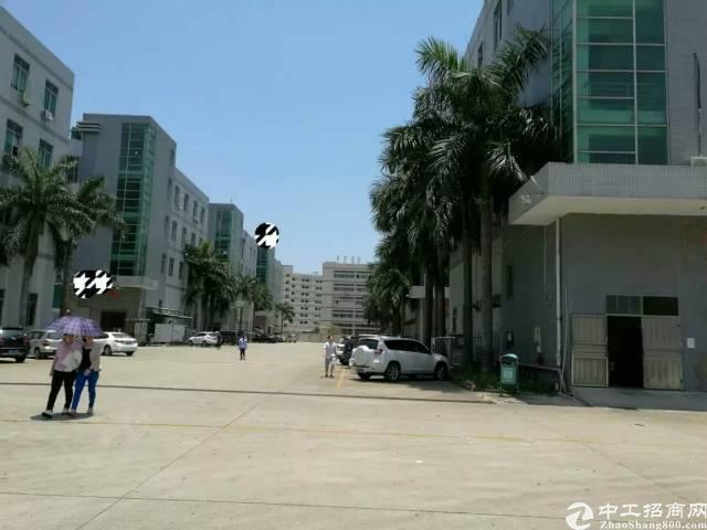 福永桥头楼上带装修750平米厂房出租