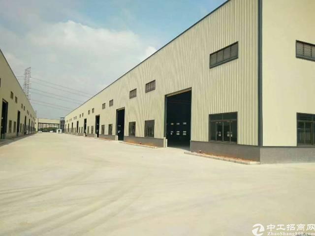 常平新出全新独院钢构15000平方,可分租,九米高带牛角位