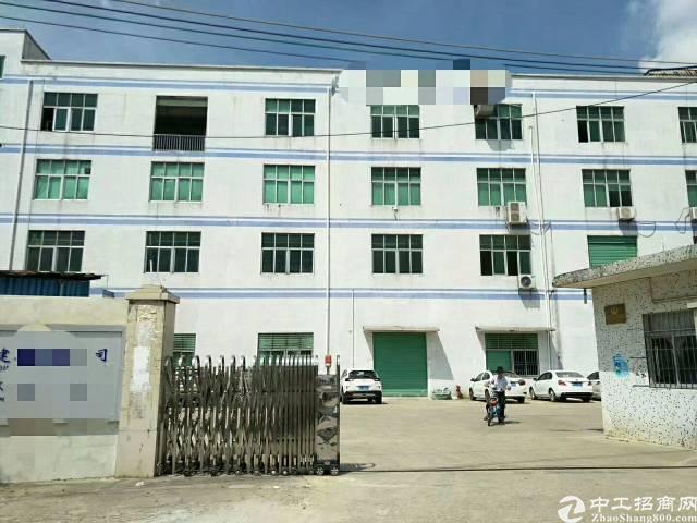 龙岗高速出口独院厂房招租4层6600平电梯和卸货平台