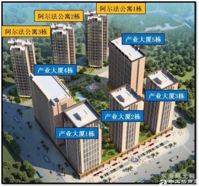 松山湖产业园全新50年红本标准厂房1500平方米出售