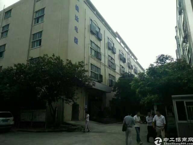 福永怀德独栋8300平米厂房出租