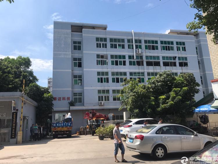 观澜库坑同富裕工业区2800平方厂房出租.共5层