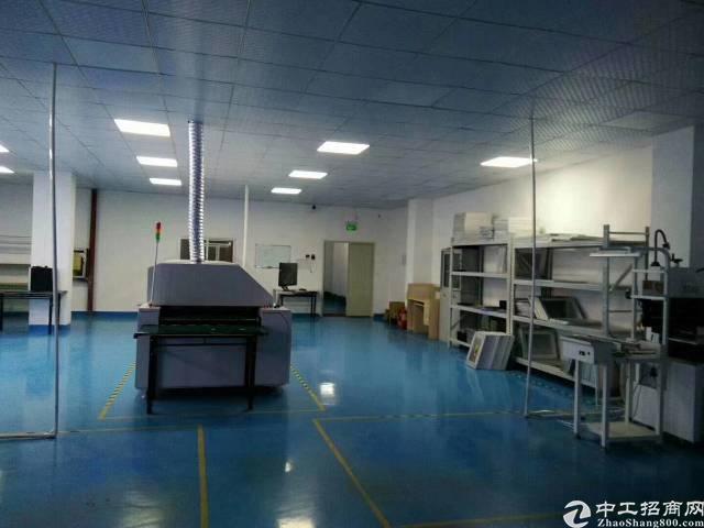 福永桥头楼上带装修750平米厂房出租-图4
