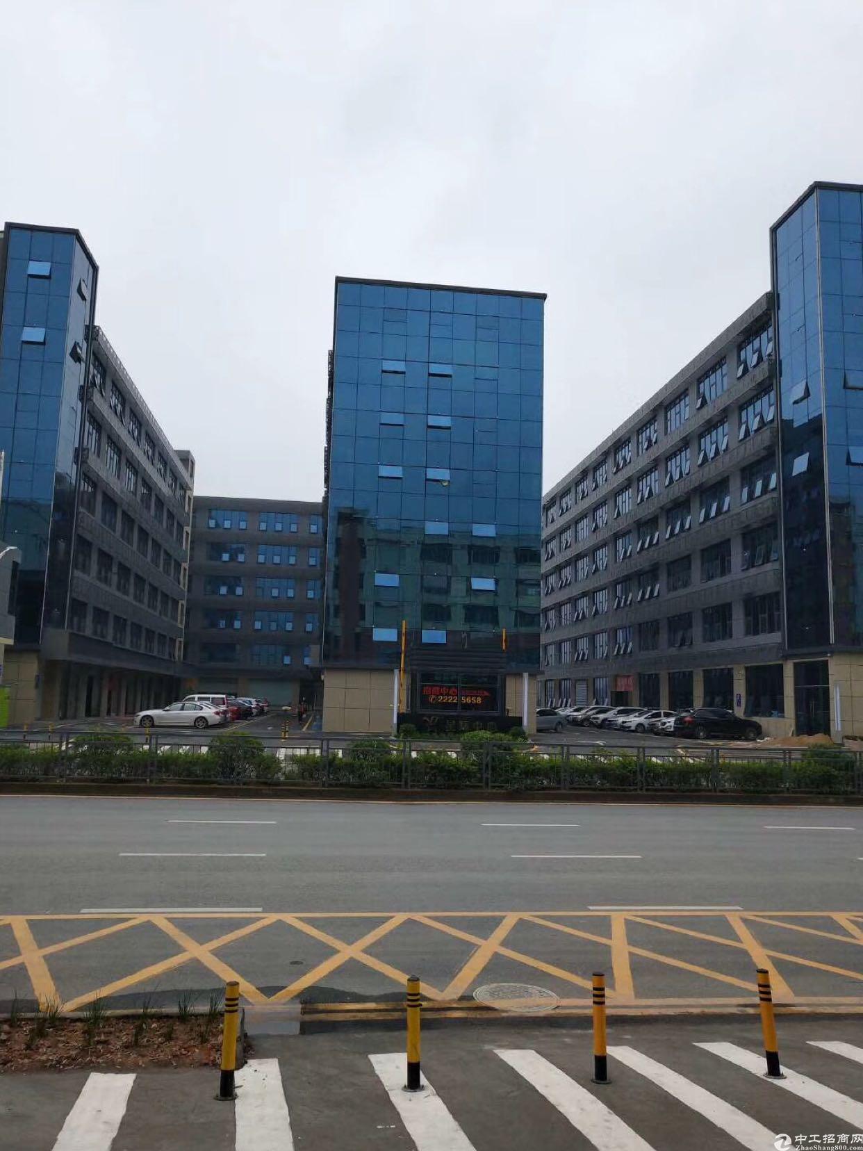 布吉丹竹头地铁站2-3-4楼每层2250平方可分租