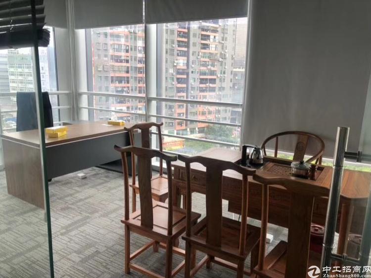 龙岗区全新地标写字楼精装招租高端红本企业总部租金实惠