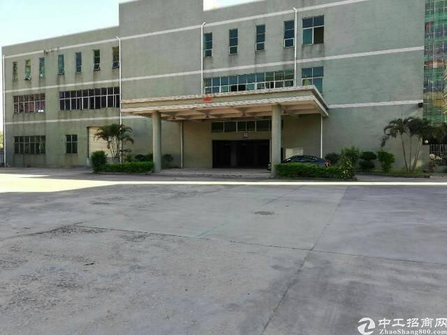 大岭山杨屋附近带红本独院三层11000平方厂房出租