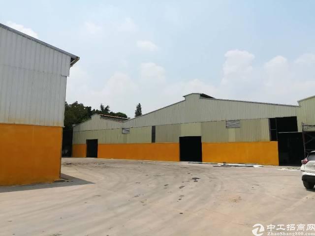 东莞市高埗镇凌屋村砖墙到顶单一层5400平招租