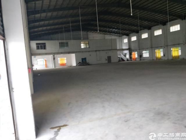 企石镇独栋单一层滴水10米钢构出租