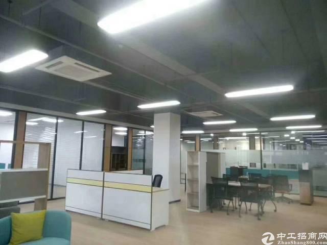 福永地铁口精装修写字楼招租大小可分