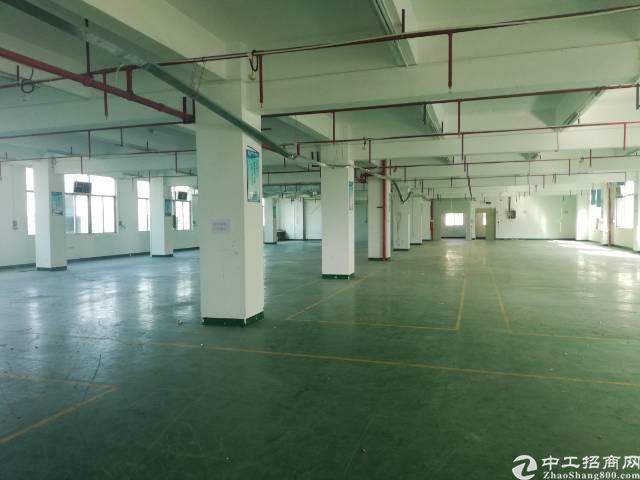 惠州惠城区三栋数码园新出楼上厂房1250㎡