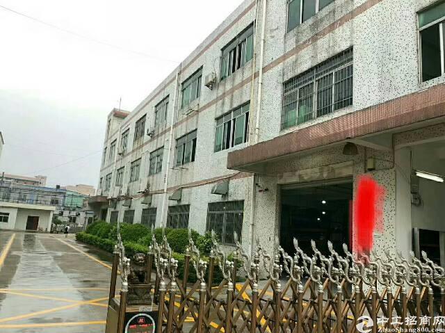 福永怀德新出独门独院三层3900平方标准工业厂房