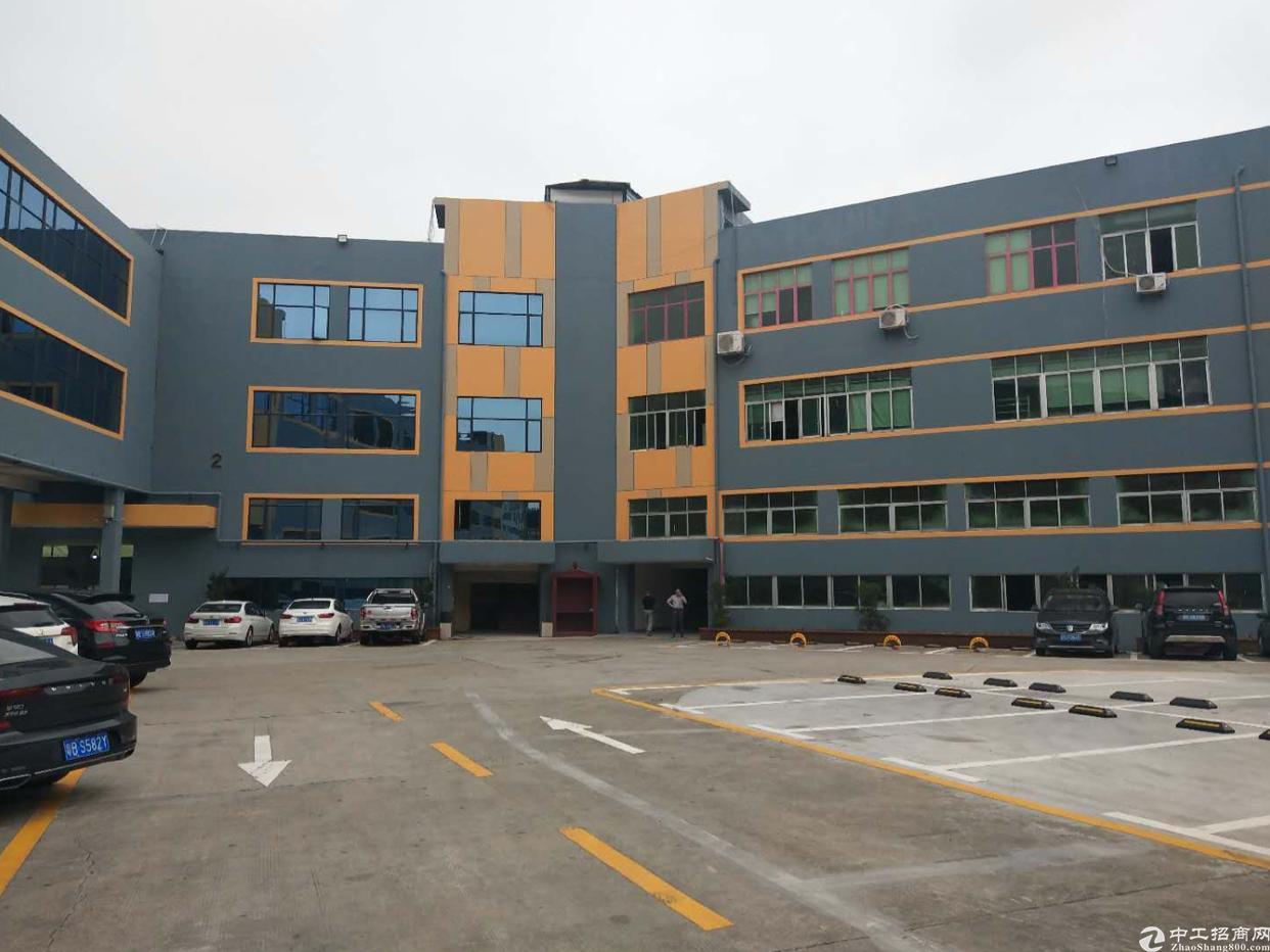 1沙井107国道旁边新出2400平米一楼厂房带红本
