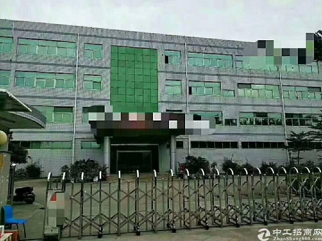 沙井新桥三工业区楼上整层厂房2800平出租