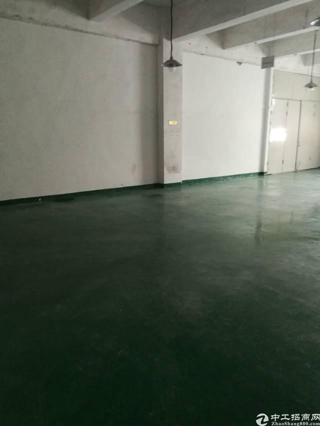 福永107国道边新出楼上带装修厂房390平出租-图4