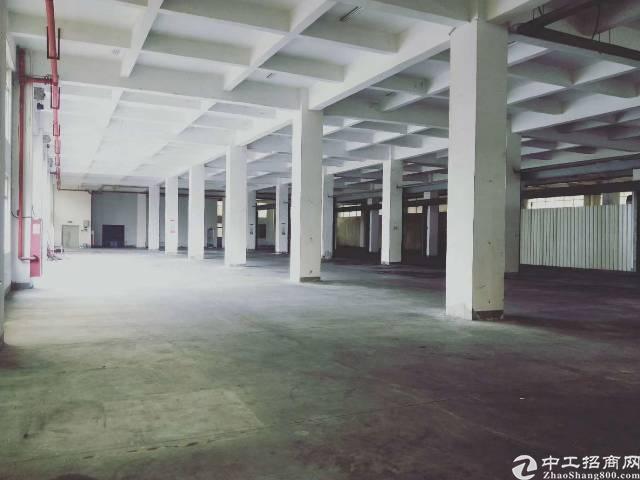 西乡黄田一楼860平方厂房出租