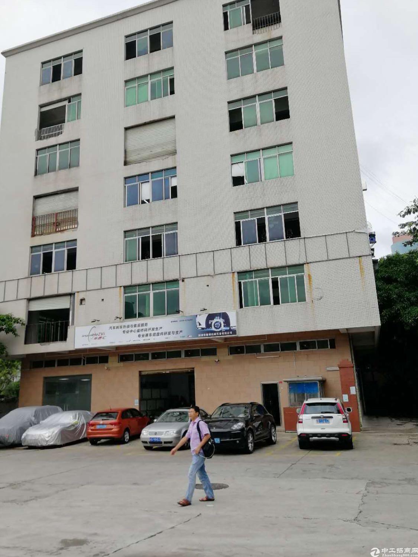 松岗潭头第三工业区私人房东5楼850平方实际面积