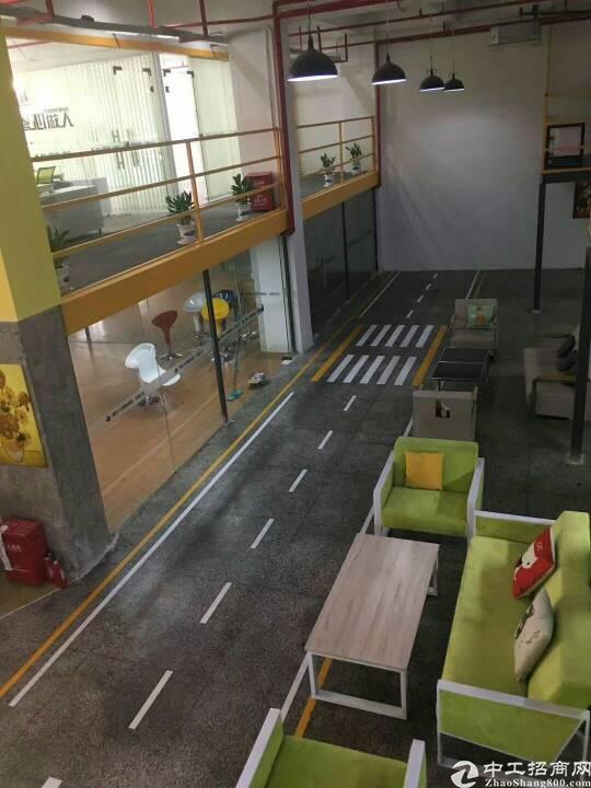 松岗地铁站旁新出写字楼一楼800平米高端大气