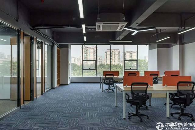 福永地铁口边上立新湖边上精装修写字楼60平米到2000平米