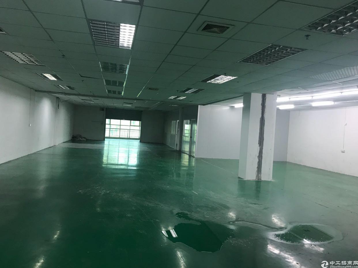 石碣镇涌口村工业区新出楼上650平方厂房