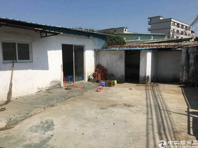 黄江镇社贝村(可做污染)单一层小独院680平米出租