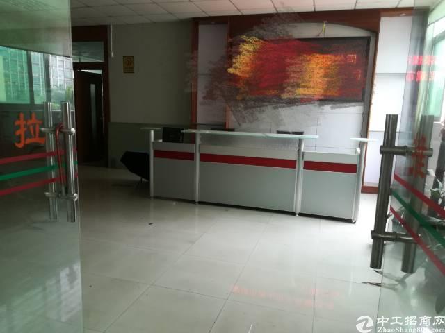 福永桥头地铁站旁楼上600平精装修办公贸易厂房出租-图4