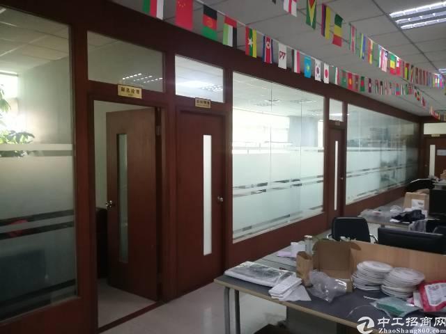 福永桥头地铁站旁楼上600平精装修办公贸易厂房出租